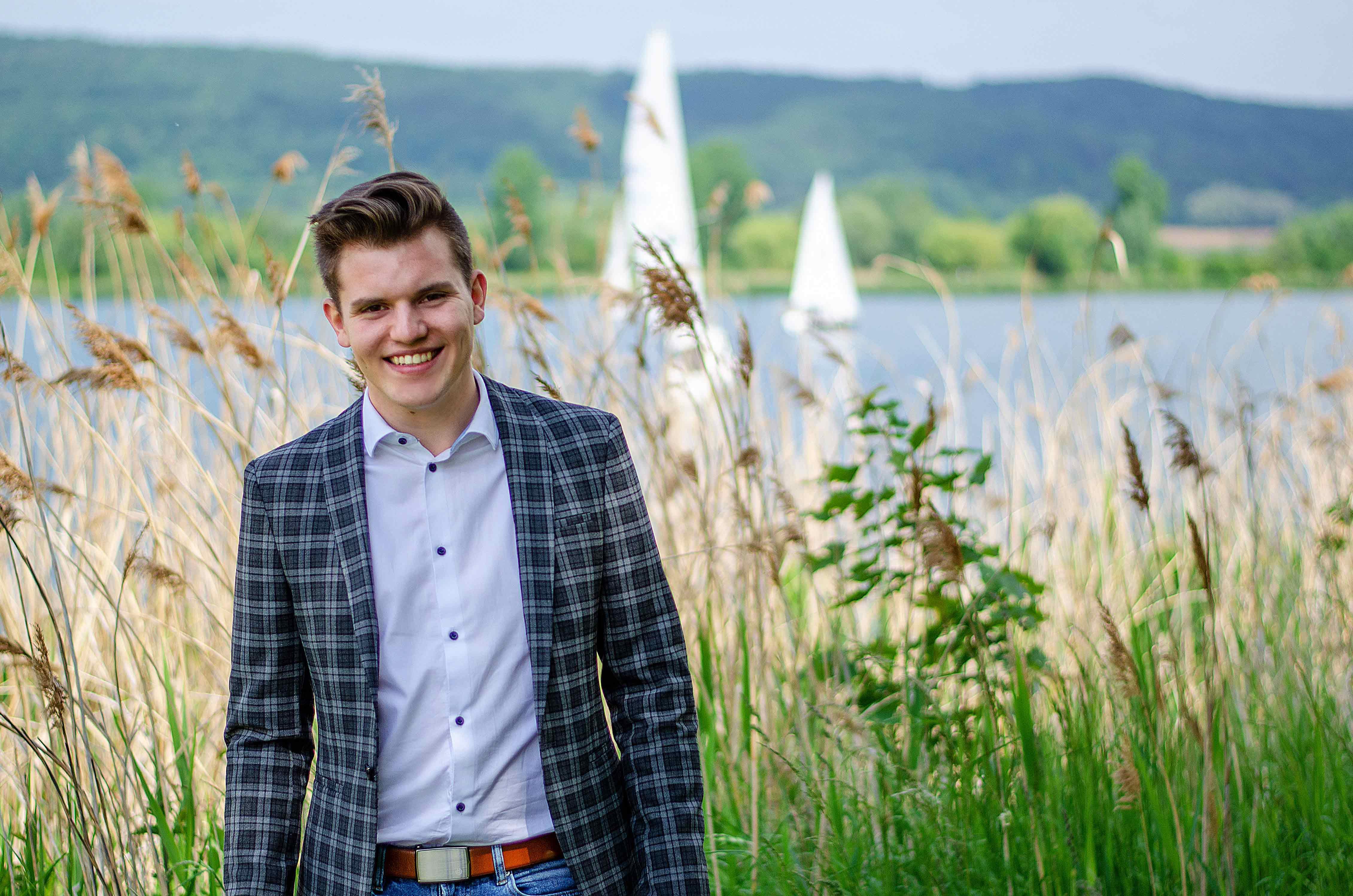Der frischgewählte Abgeordnete: Felix Martin aus Nordhessen